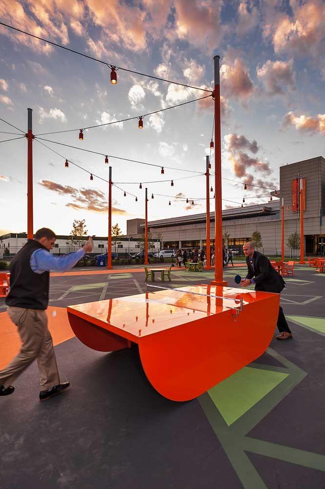 Table Tennis The-Lawn-on-D_05 « Landscape Architecture Works | Landezine