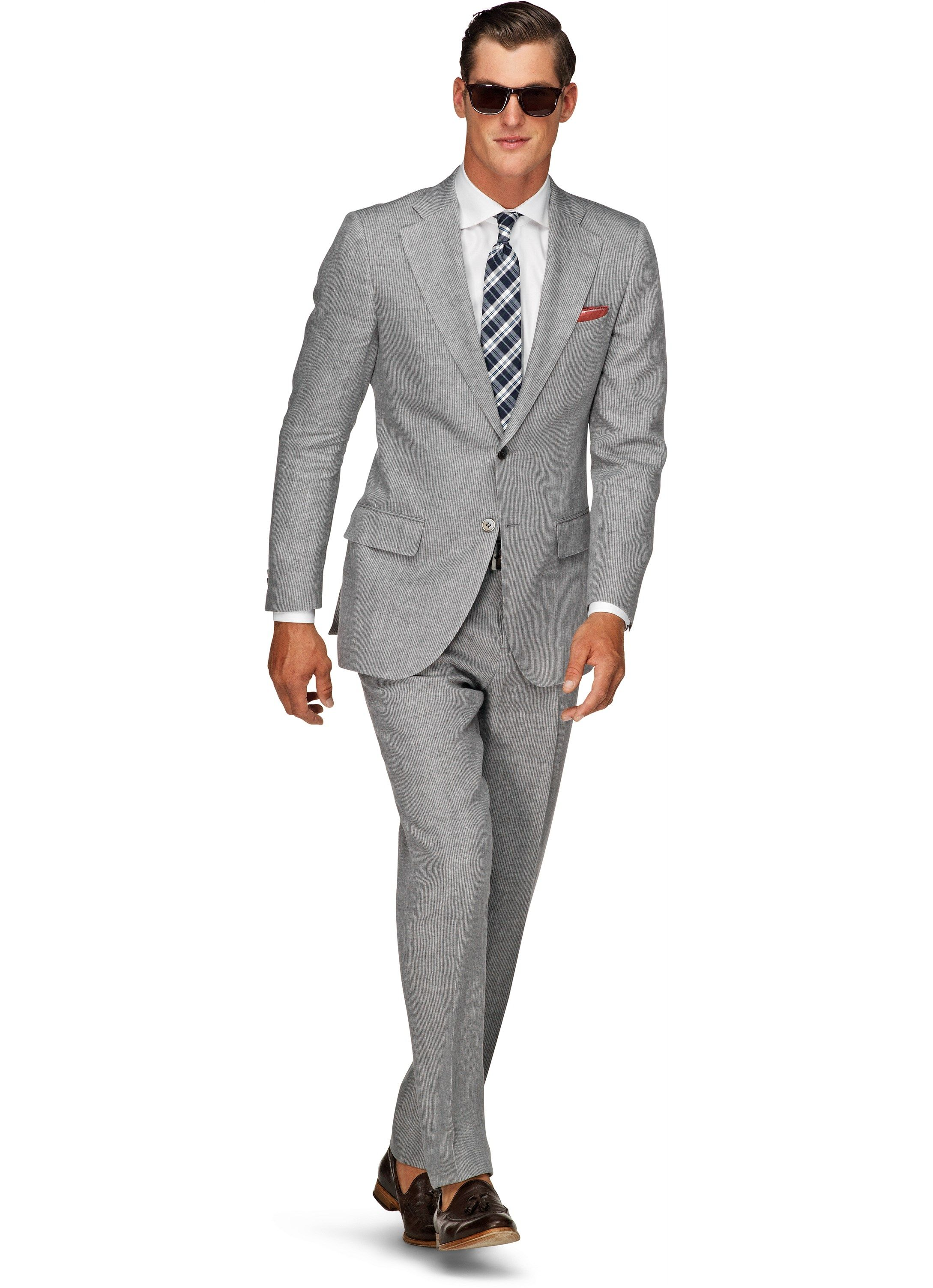 Suit Supply: LAZIO LICHTGRIJS STREEP | Gentlemen's candy ...