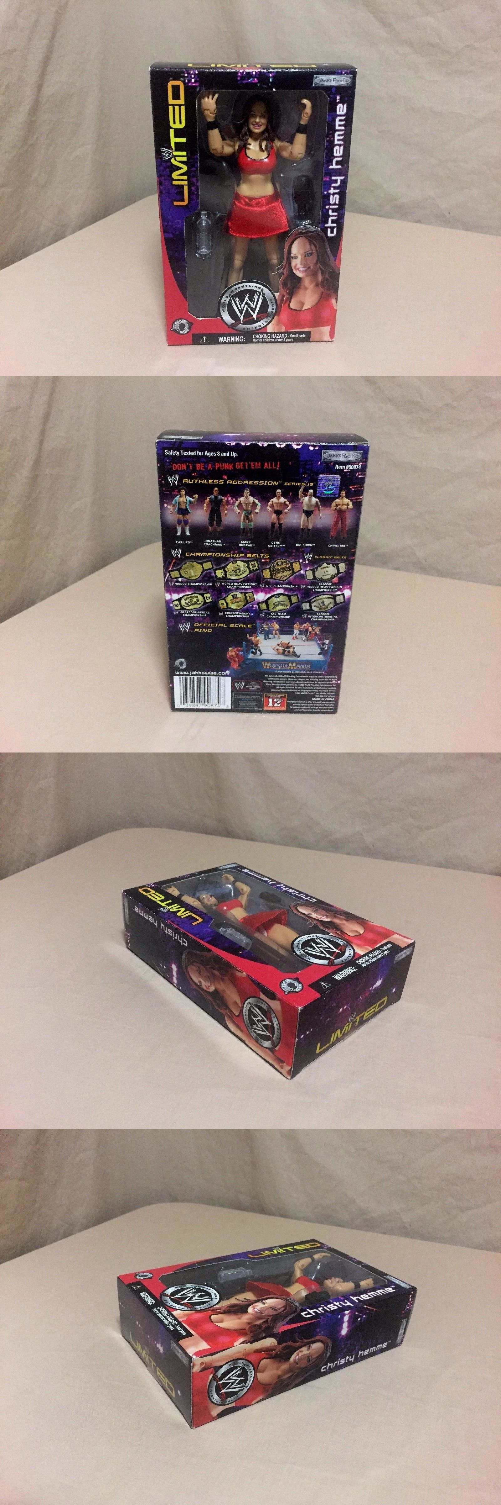 Someone bought this wwf superstars shoot out tabletop hockey game - Sports 754 Christy Hemme Action Figure Wwe Limited Jakks 2005 New Sealed Buy