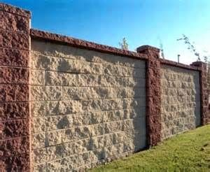 Decorative Block Wall concrete block wall fence decorative | decorative fences | privacy