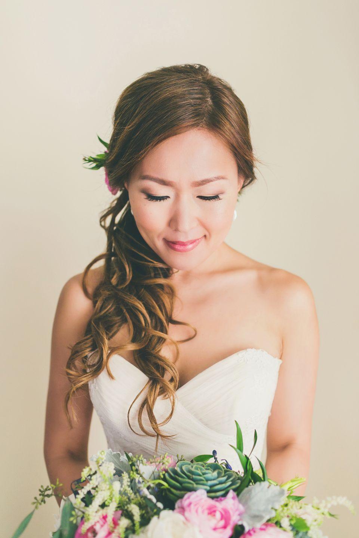 Wedding beach hair  Polo Beach and Fairmont Kea Lani Maui Hawaii  Maui Weddings