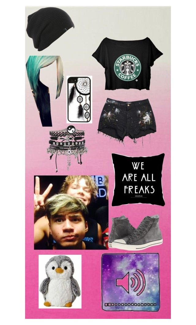 """""""Face timing Calum and Ashton"""" by lauren2900 ❤ liked on Polyvore featuring Converse, ASOS and CellPowerCases"""