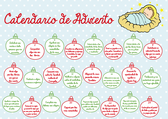 Calendario de adviento para ni os navidad pinterest for Calendario manualidades