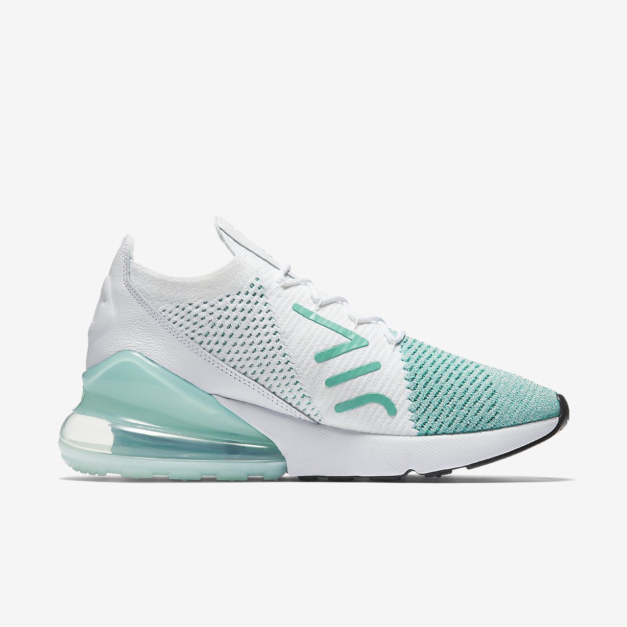 Nike Air Max 270 Flyknit Women's Shoe 5 Loafers for