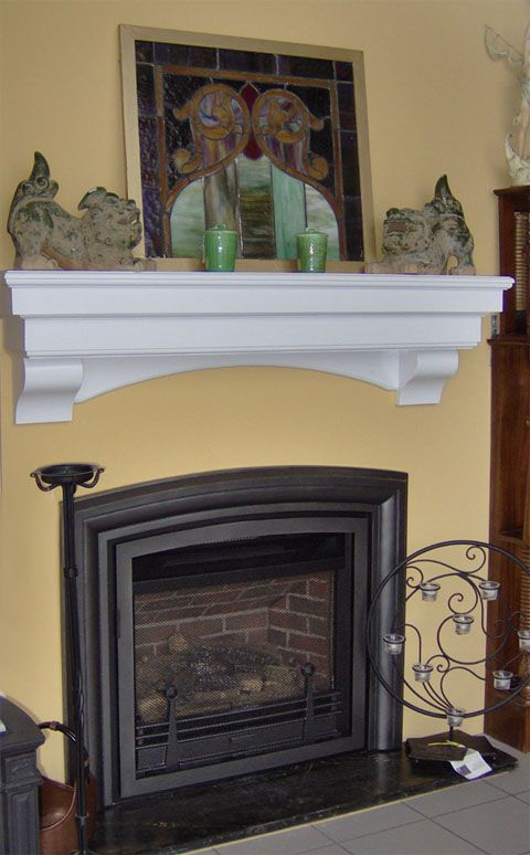 Fireplace Shelves Mantels Mantel Shelf For Simple Fireplace Needs A Mantel Shelf May Provide