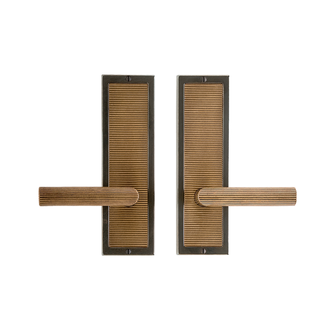 Sophisticated Door Handles From The Flute Collection By Roger Thomas At  Rocky Mountain Hardware. Known