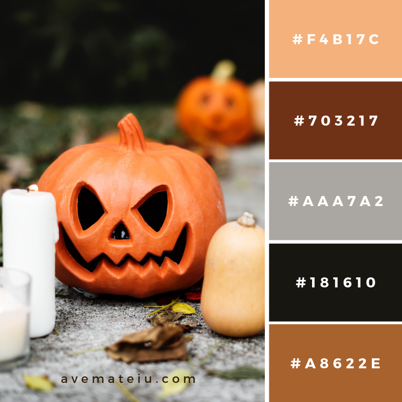 World Of Color Halloween 2020 Color Palettes in 2020 | Halloween color palette, Color schemes
