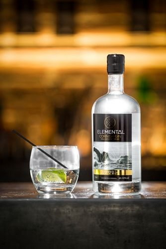 Elemental Cornish Gin. I managed to find a bottle, yesterday. Those lovely people in Bin Two in Padstow.