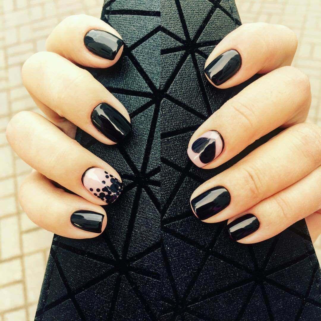 80 Diseños de uñas decoradas color negro | Decoración de Uñas - Nail ...