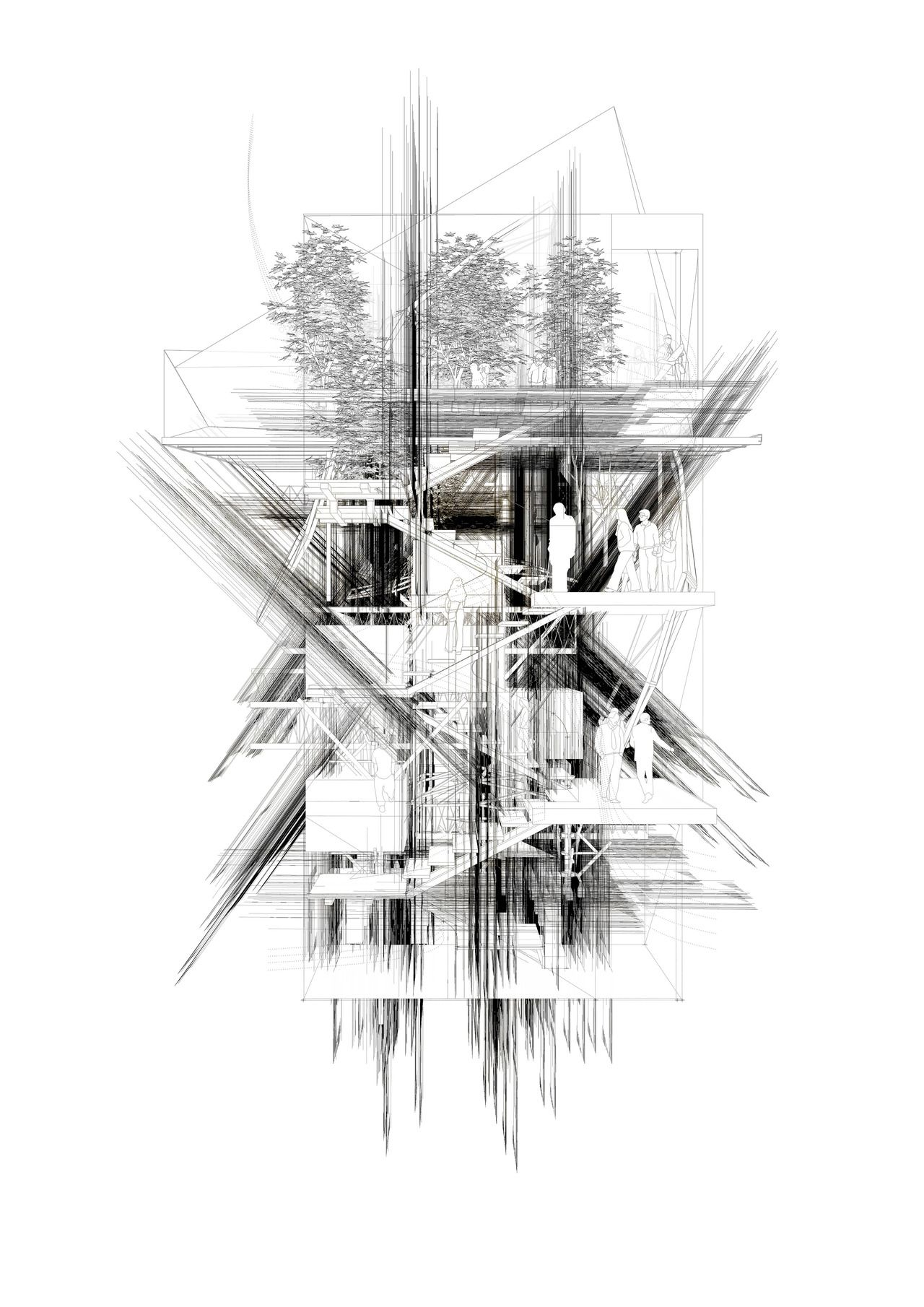 Drawing Architecture Architecture Sketch Pinterest