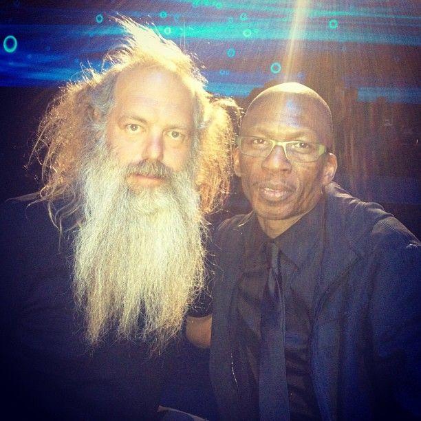 Hank Shocklee and Rick Rubin