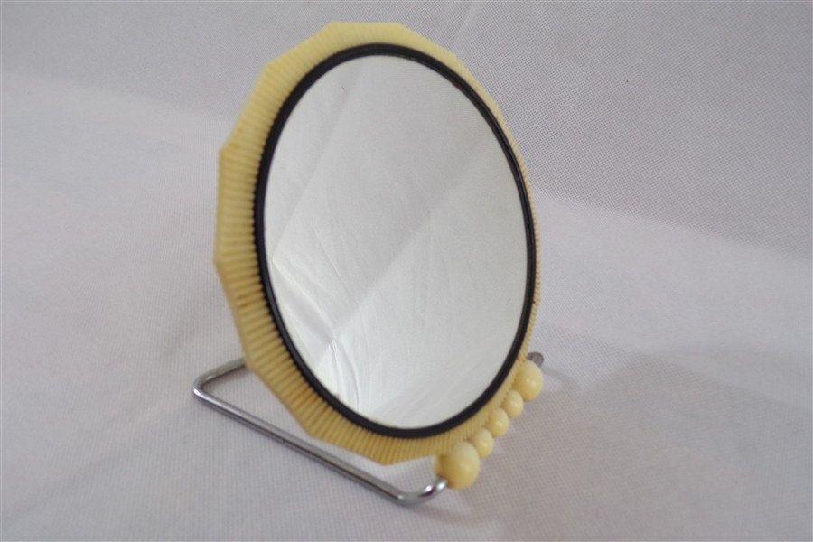 miroir vintage double face poser style art deco miroir grossissant miroir de coiffeuse