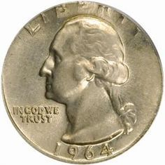 If You Find A Pre 1965 Quarter 1932 1964 Washington Dont Spend It As 25 Cents
