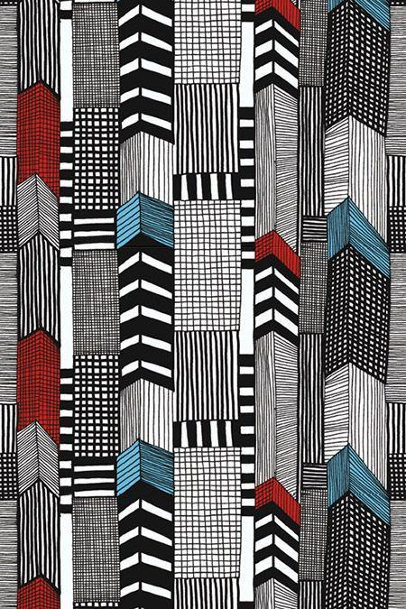 Tapete Grid 01 Tapetenstudio De Marimekko Kleine Kunst