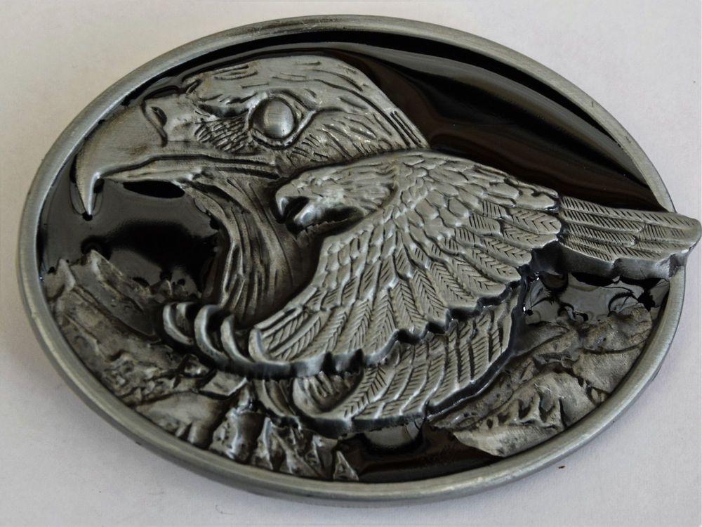 Bc155 - boucle de ceinture country aigles   eBay ef4f7273787