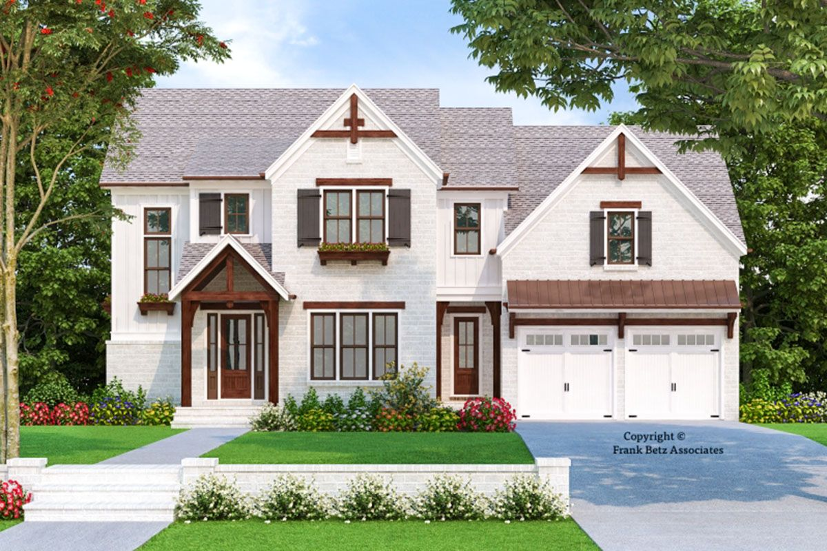 Plan 710345BTZ: Two-Story Craftsman Home Plan with Main ...
