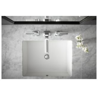 Kohler K 2882 47 Almond Verticyl 19 13 16 Rectangular Undermount Bathroom Sink With Vertical Sides And Overflow Rectangular Sink Bathroom Undermount Bathroom Sink Small Undermount Bathroom Sink