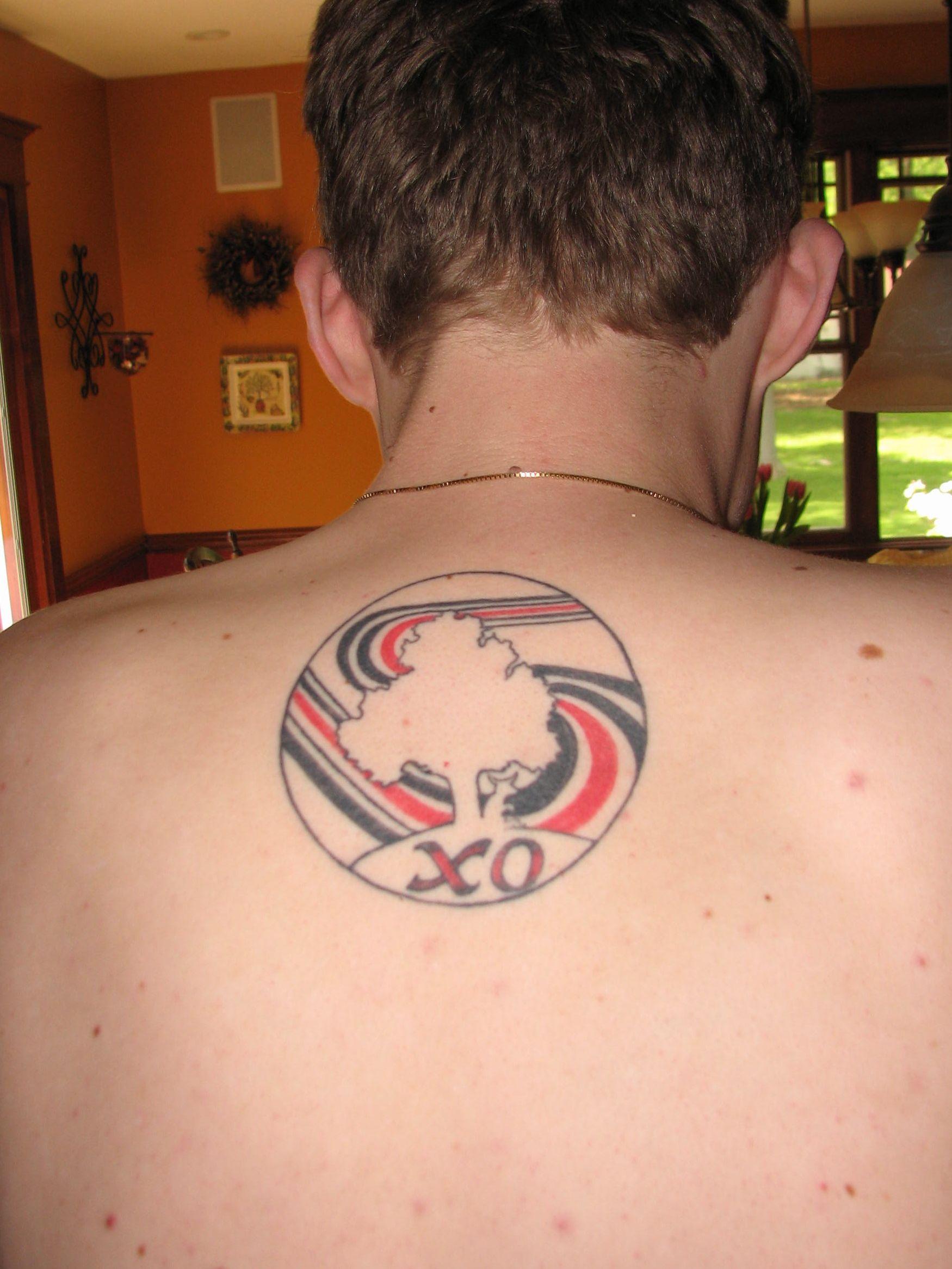 Elliott Smith Figure 8 Tattoo