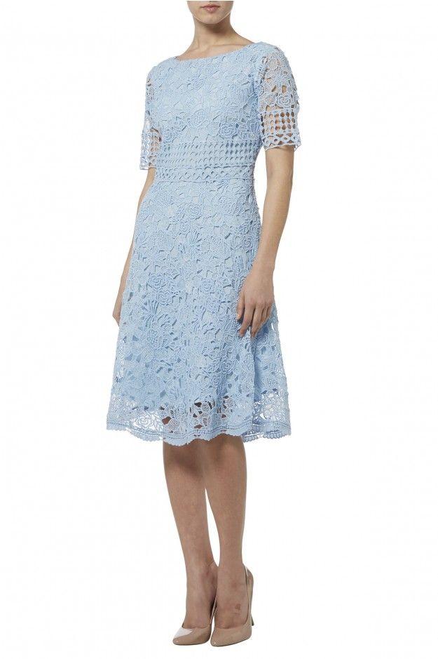 Sky lace dress