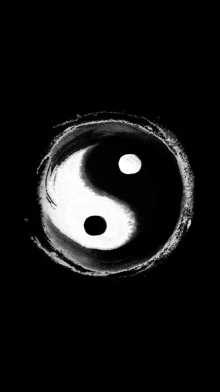 Yin Yang Iphone Wallpaper For Guys Man Wallpaper Yin Yang Art