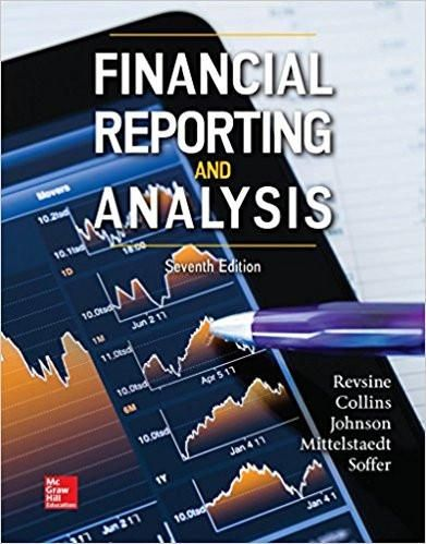 Financial Reporting and Analysis 7th Edition by Lawrence Revsine - new 13 income statement form