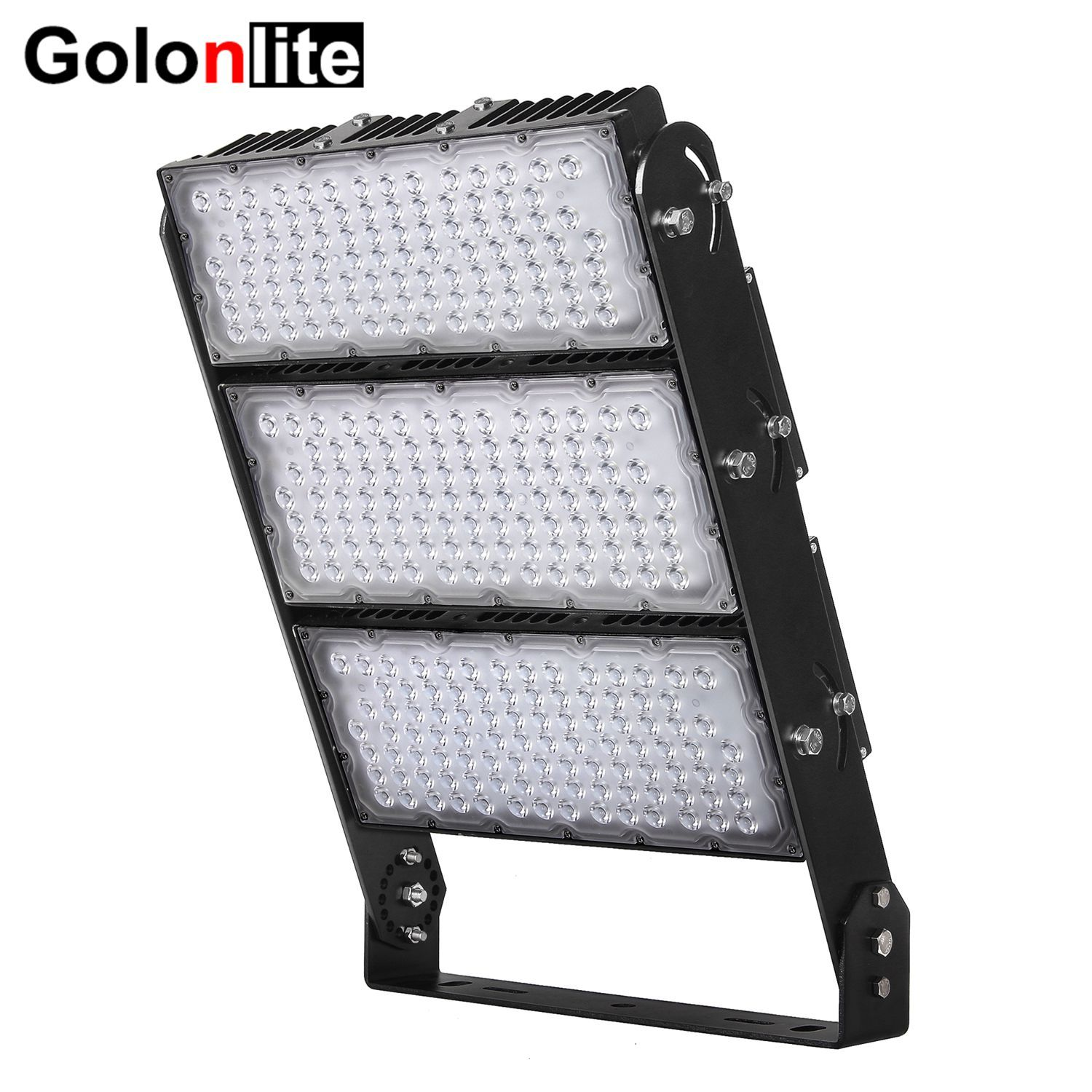 Led High Mast Light 145lm W 10 25 40 Degrees 100 277vac 1200w 1000w 900w 600w 500w 400w 300w Meanwell Inventronics Led Flood Lights Led Flood Stadium Lighting