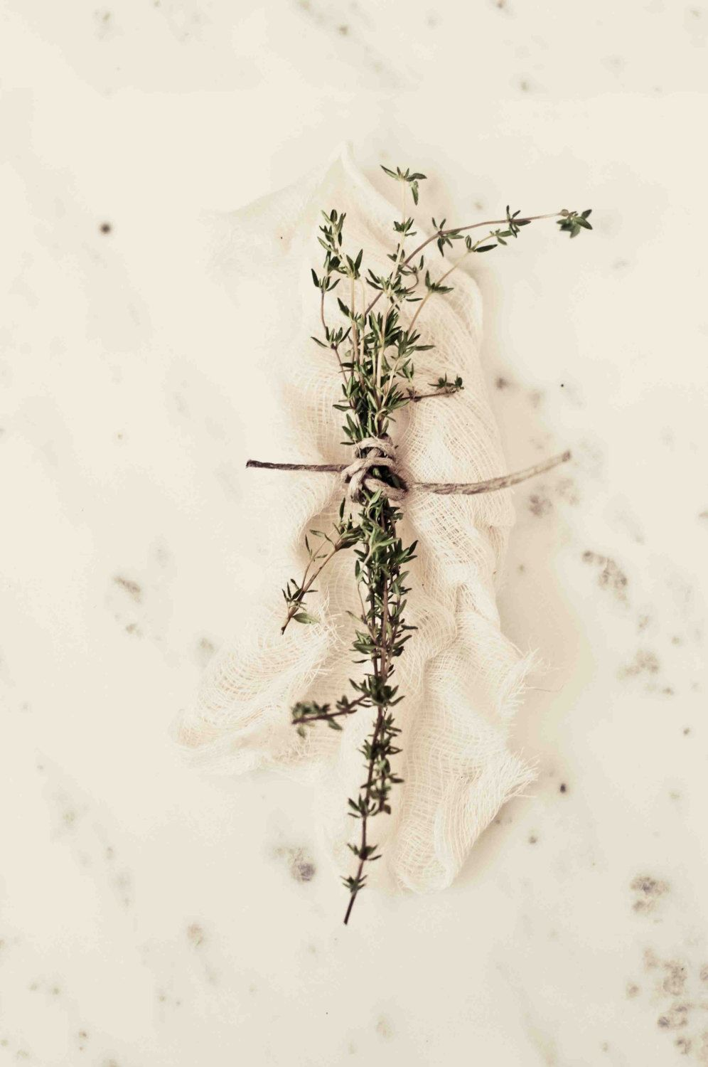 Food Photography, Thyme Print - Still Life Photography, Herbs ...