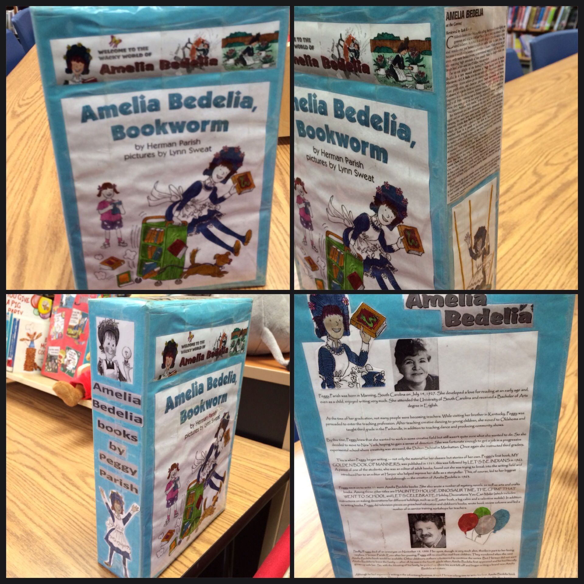 Amelia Bedelia Cereal Box With Images