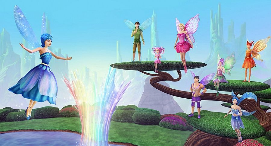 Barbie Fairytopia Magic Of The Rainbow 2007 Wallpapers Free Download