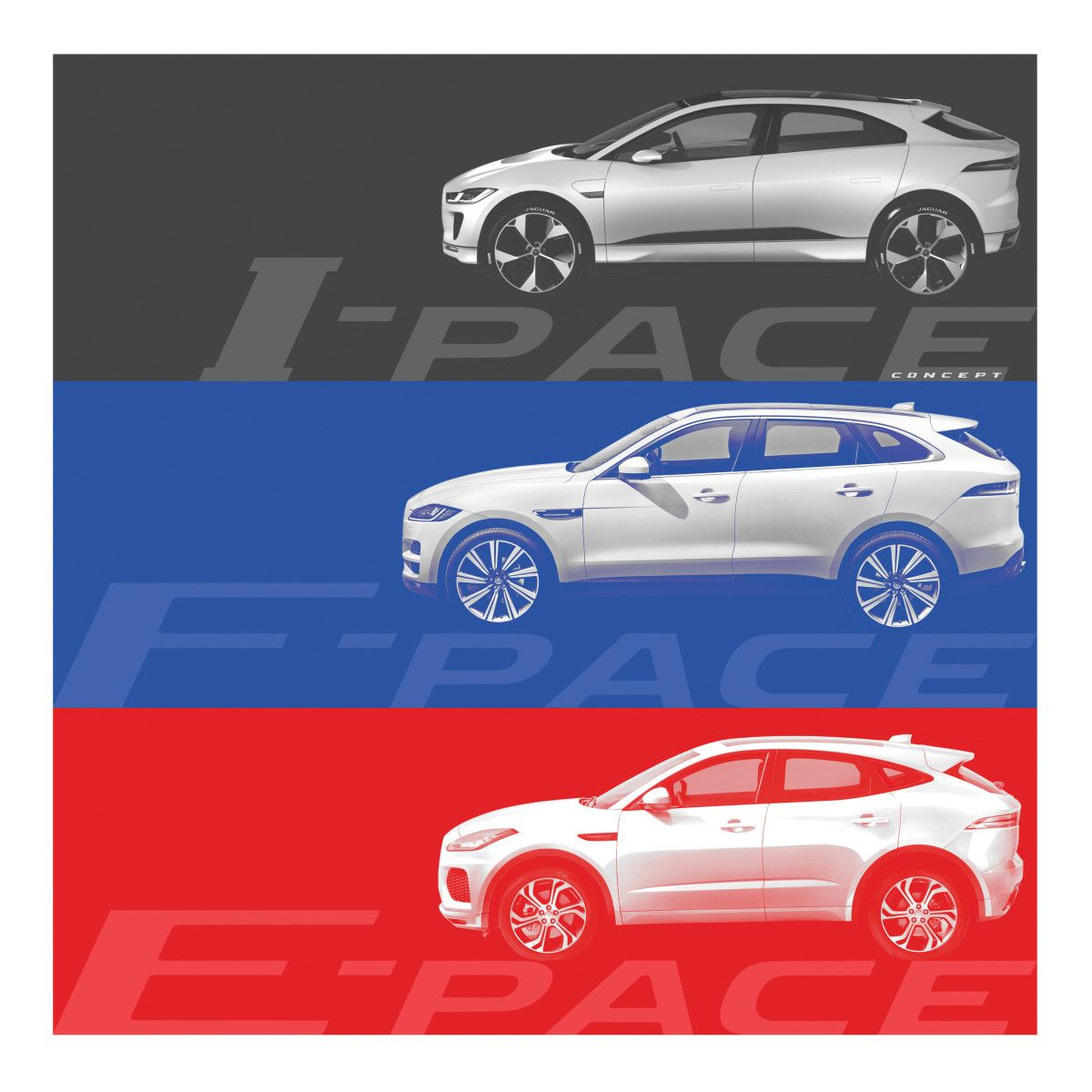 Jaguar Previews Its Smallest SUV, The E-PACE