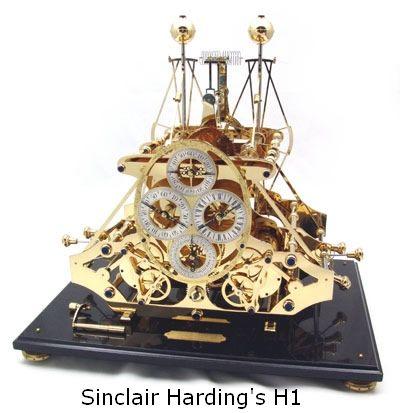 Sinclair Harding S John Harrison S H1 Replica Clock Unusual Clocks John Harrison