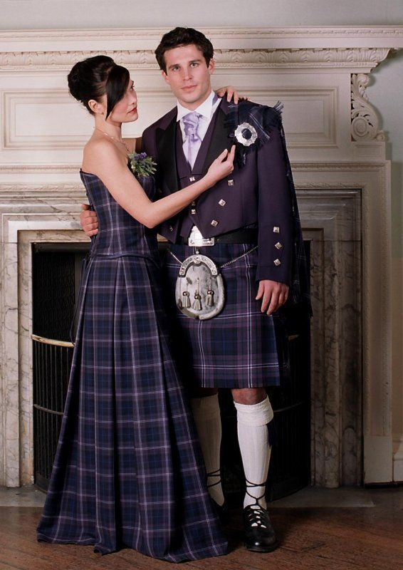 Heritage Of Scotland Plaid Prom