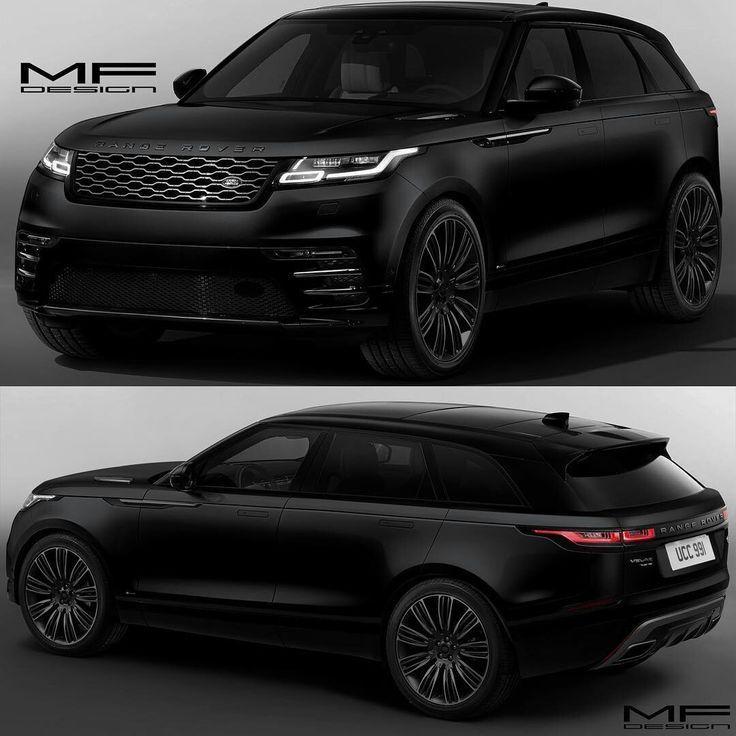 Range Rover Velar Black #rangerover #cars #car #black