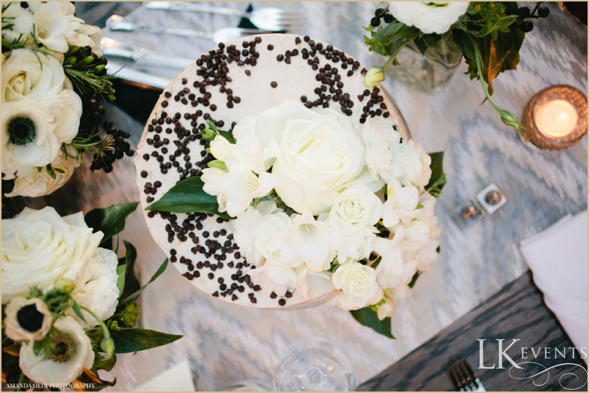 This Chicago wedding at #MorganManufacturing was a stunning display of this couple's love with a diverse selection of foods from their favorite travels, beautiful succulents and a gorgeous contrast of deep red and crisp white florals. Photos by Amana Hein Photography