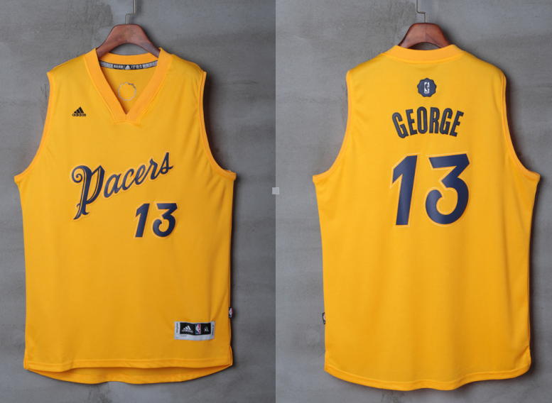 3007c49d457 ... Stitched Revolution 30 Swingman NBA Jersey Indiana Pacers 13 Paul  George Pacers 2016 Christmas jersey ...