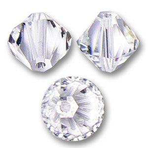 Toupie Swarovski 10 mm Crystal  x1