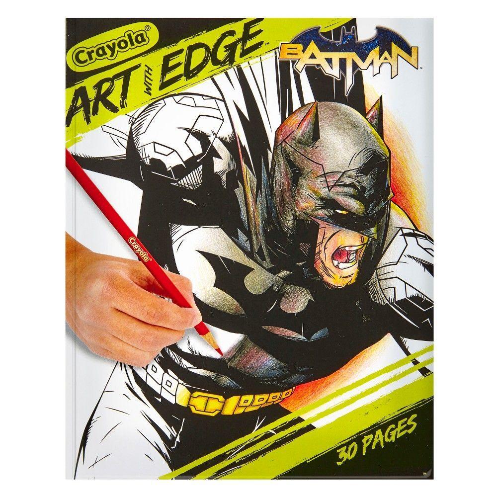 Crayola Art With Edge Coloring Book Batman Batman Coloring Pages Crayola Art Coloring Books