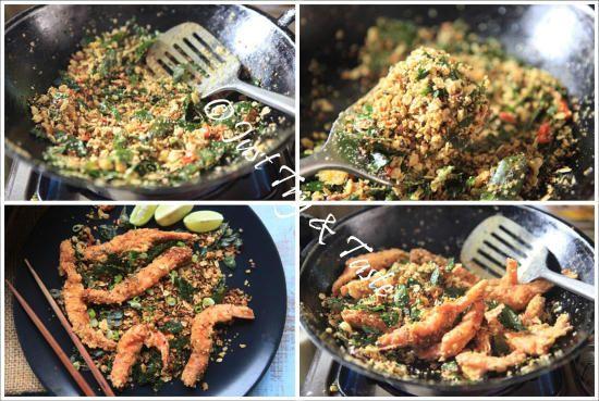 Resep Udang Goreng Oatmeal A La Singapore Resep Udang Masakan Indonesia Masakan