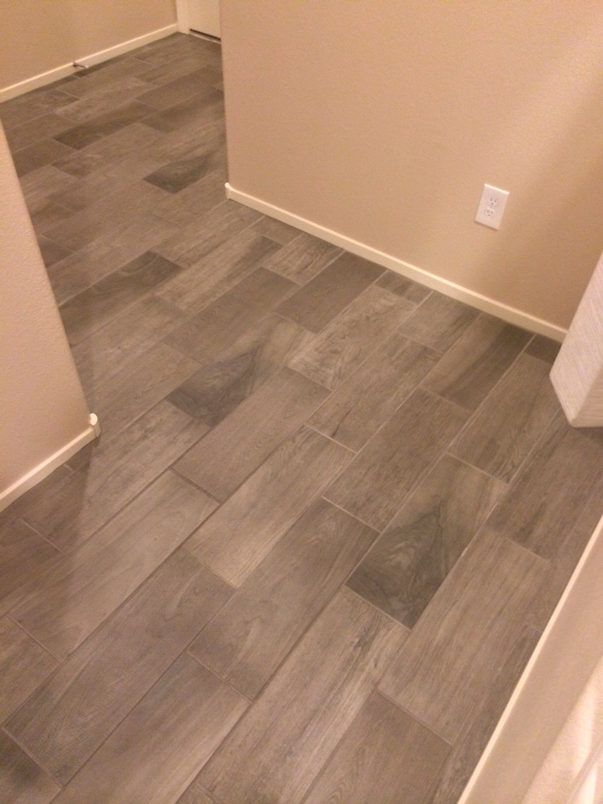Emblem (Color Gray EM03) Grey wood tile, Daltile, Wood