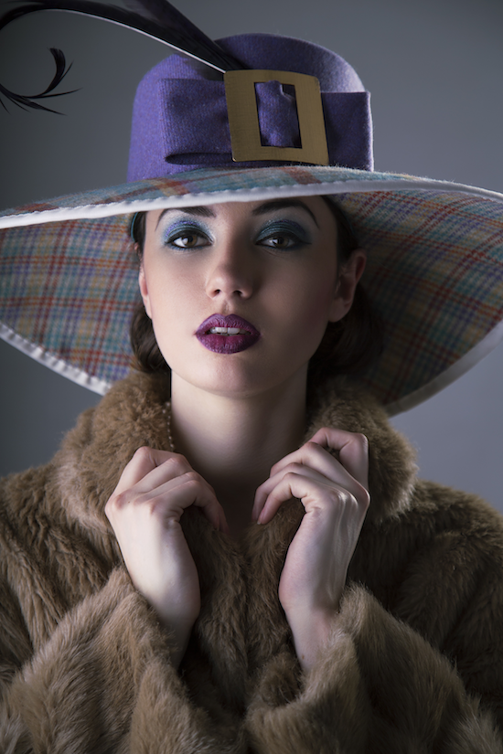 Sharper Millinery - Lady Constance, A/W 2014. #passion4hats