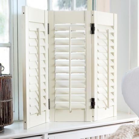 shutter ventura loberon weiss white wohnen in wei. Black Bedroom Furniture Sets. Home Design Ideas