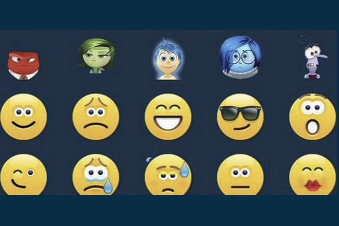 Personagens de 'Divertida Mente', da Pixar, viraram emojis do Skype - Blue Bus