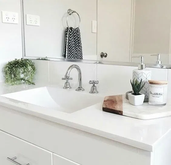 8 Chic And Easy Ways To Revamp Your Bathroom Counter • The Perennial Style | Dallas Fashion Blogger