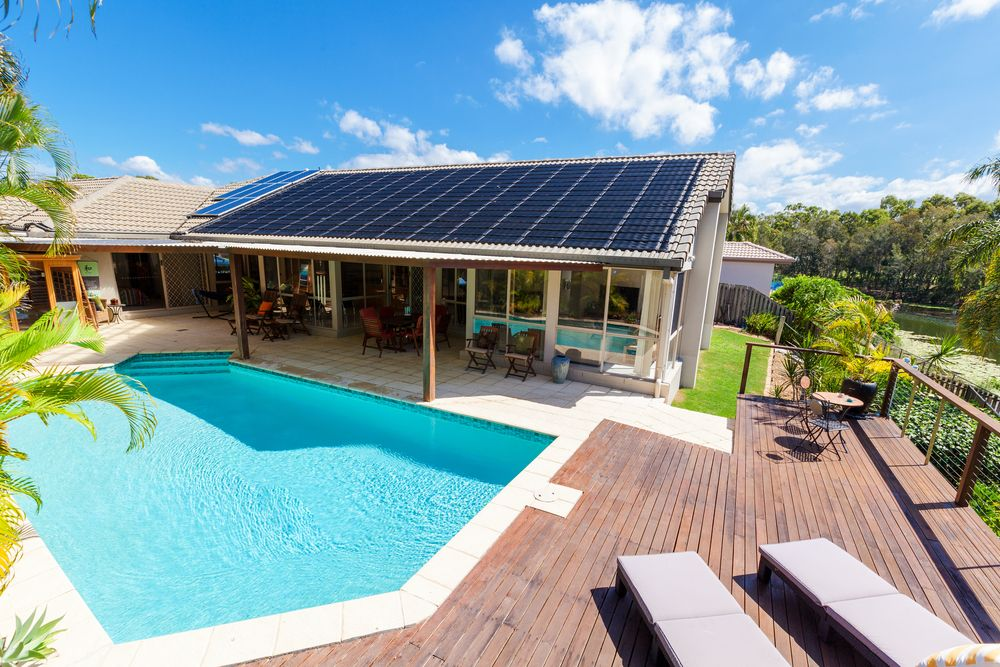 Would you want to own a home powered by solar panels? It