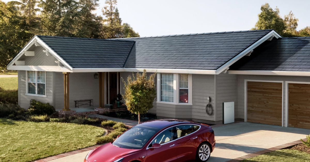 Tesla Unveils Its Easier To Install Solar Roof Solar Roof Tiles Solar Roof Tesla Solar Roof