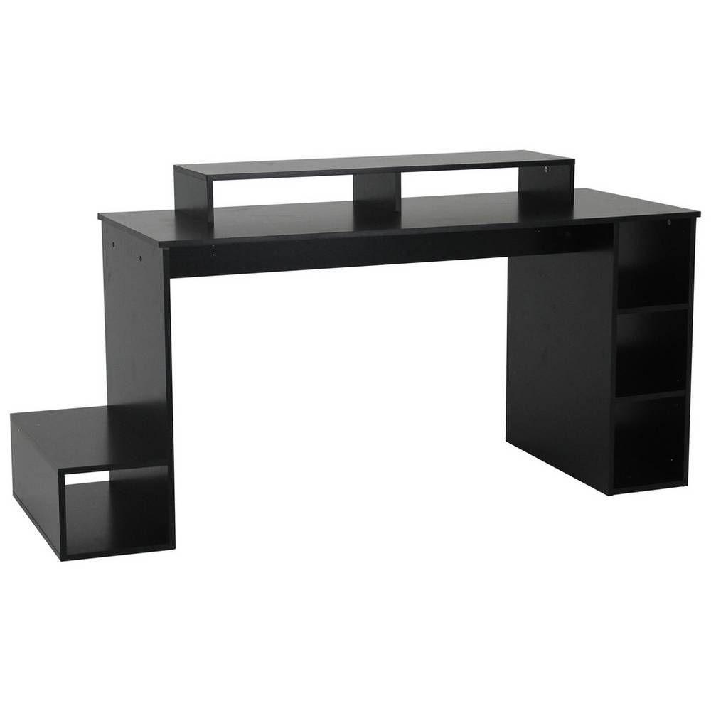 Buy Argos Home Gaming Desk - Black | Desks #gamingdesk Gaming Desk Argos #gamingdesk