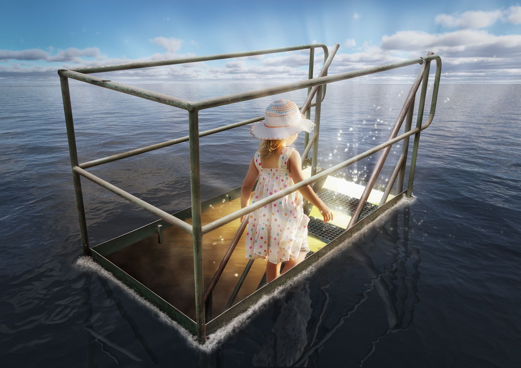 The Girl from Atlantis by John Wilhelm is a photoholic on