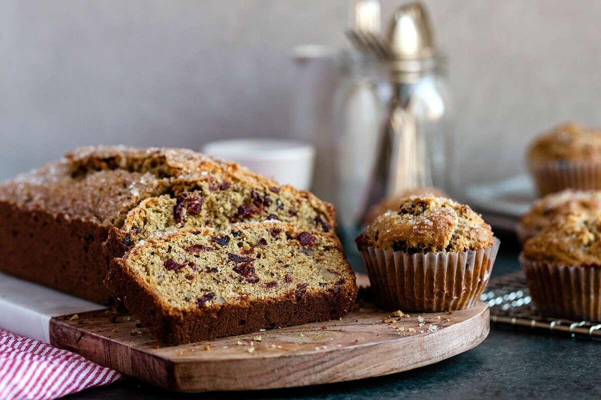 Cranberrywalnut bread muffins recipe in 2020