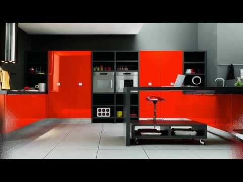 The red color for our Kitchen That Bold Spirit
