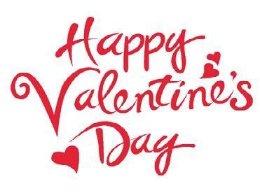 Resultado de imagen de happy valentines day letras